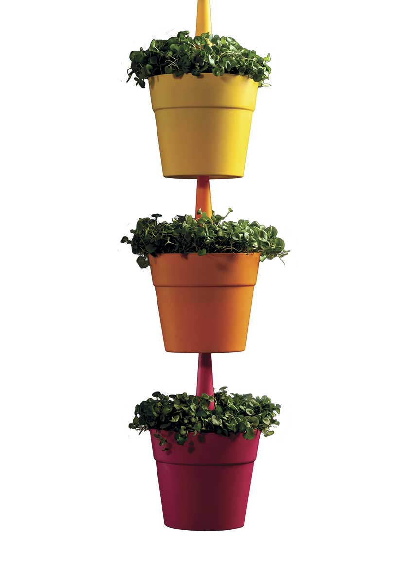 Кашпо RAINBOW PLANTER SET-3